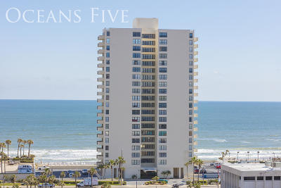 Daytona Beach Shores Condo/Townhouse For Sale: 2987 S Atlantic Avenue #1103