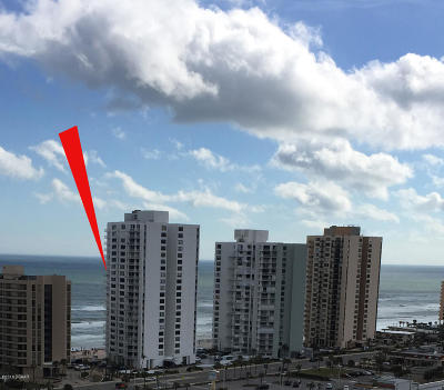 Daytona Beach Shores Condo/Townhouse For Sale: 3043 S Atlantic Avenue #1204