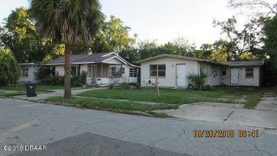 Volusia County Multi Family Home For Sale: 421 Jefferson Street