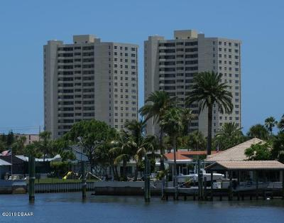Daytona Beach Condo/Townhouse For Sale: 3311 S Atlantic Avenue #1801