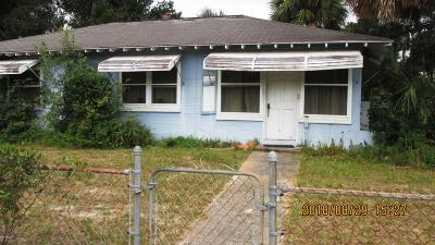 Daytona Beach Single Family Home For Sale: 1101 Madison Avenue