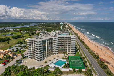 Flagler Beach Condo/Townhouse For Sale: 3580 S Ocean Shore Boulevard #905