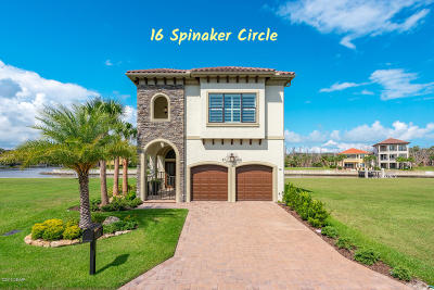Palm Coast Single Family Home For Sale: 16 Spinaker Circle