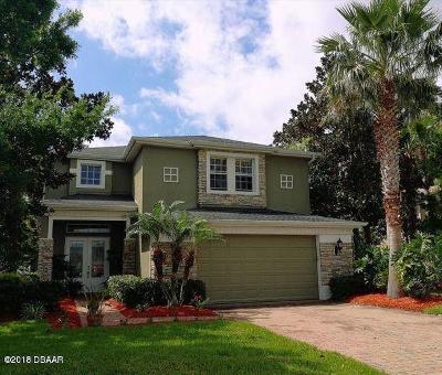 Port Orange Single Family Home For Sale: 3886 Bourbon Street