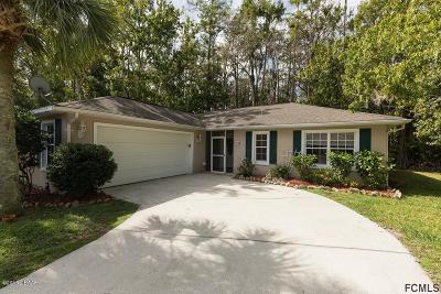 Palm Coast Single Family Home For Sale: 56 Edward Drive