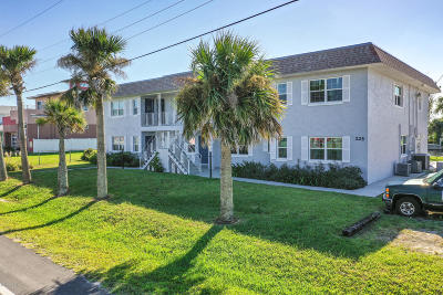 Flagler Beach Multi Family Home For Sale: 225 N Flagler Avenue
