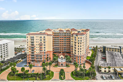 Daytona Beach Shores Condo/Townhouse For Sale: 2515 S Atlantic Avenue #709