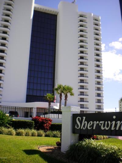 Daytona Beach Shores Condo/Townhouse For Sale: 2555 S Atlantic Avenue #1702