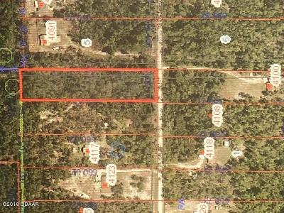 Volusia County Residential Lots & Land For Sale: Budd Road