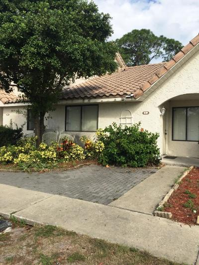 Port Orange Attached For Sale: 3551 Forest Branch Drive #E