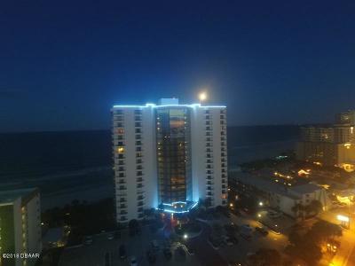 Daytona Beach Shores Condo/Townhouse For Sale: 2425 S Atlantic Avenue #1407