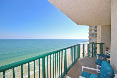 Daytona Beach Condo/Townhouse For Sale: 3315 S Atlantic Avenue #1608