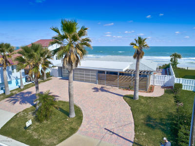 Ponce Inlet, South Daytona, Wilbur-by-the-sea Single Family Home For Sale: 4115 S Atlantic Avenue