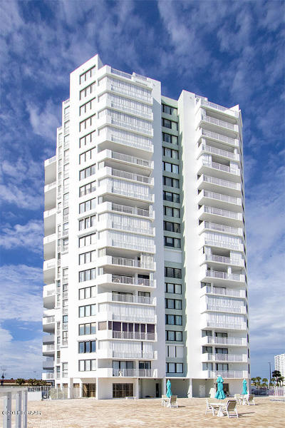 Daytona Beach Shores Condo/Townhouse For Sale: 3047 S Atlantic Avenue #804