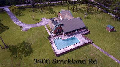 Volusia County Single Family Home For Sale: 3400 Strickland Road