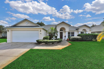 Palm Coast FL Single Family Home For Sale: $333,200
