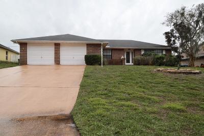 Deltona Single Family Home For Sale: 2261 Henry Lane
