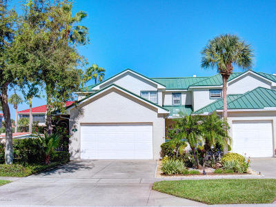 New Smyrna Beach Condo/Townhouse For Sale: 411 Bouchelle Drive #411