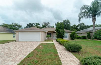 Port Orange Single Family Home For Sale: 6093 Spruce Point Circle