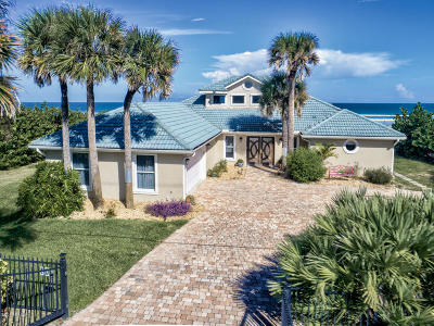 Ponce Inlet, South Daytona, Wilbur-by-the-sea Single Family Home For Sale: 4707 S Atlantic Avenue