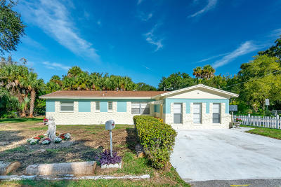 New Smyrna Beach Single Family Home For Sale: 900 Roper Street