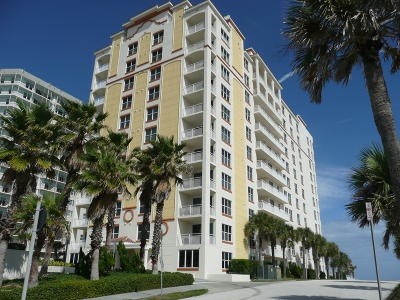Daytona Beach Shores Condo/Townhouse For Sale: 2071 S Atlantic Avenue #902