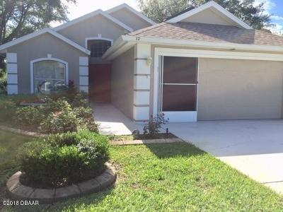 Ormond Beach Single Family Home For Sale: 32 Lake Walden Trail