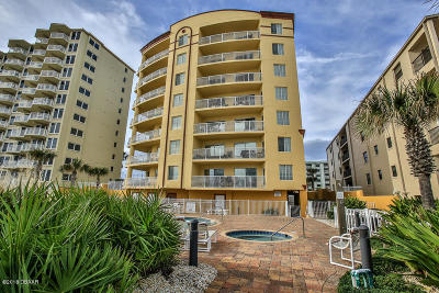 Daytona Beach Condo/Townhouse For Sale: 3811 S Atlantic Avenue #102