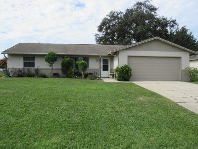 Deltona Single Family Home For Sale: 2961 Derby Drive