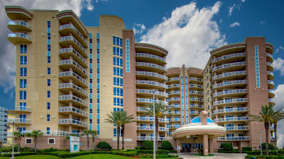 Daytona Beach Condo/Townhouse For Sale: 1925 S Atlantic Avenue #410