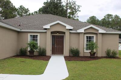 Palm Coast Single Family Home For Sale: 10 Riviera Estates Drive