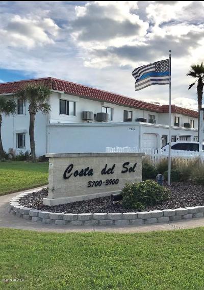 Flagler Beach Condo/Townhouse For Sale: 3900 S Ocean Shore Boulevard #20