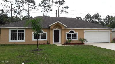 Palm Coast FL Single Family Home For Sale: $232,900