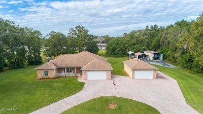 Deland Single Family Home For Sale: 2300 Glenwood Plantation Road
