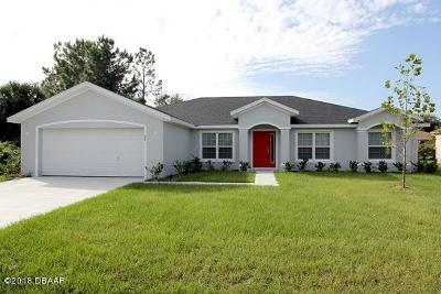 Palm Coast Single Family Home For Sale: 27 Budshire Lane