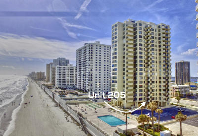 Daytona Beach Shores Condo/Townhouse For Sale: 2987 S Atlantic Avenue #205