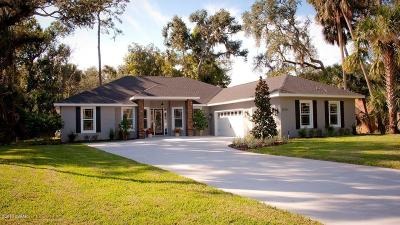 Ormond Beach Single Family Home For Sale: 3919 Kiowa Lane