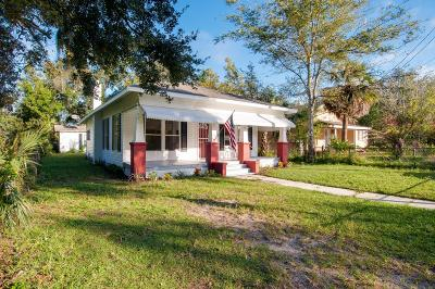 Daytona Beach Single Family Home For Sale: 706 Park Drive