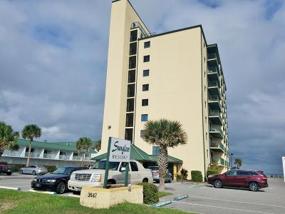 Daytona Beach Shores Condo/Townhouse For Sale: 3647 S Atlantic Avenue #806