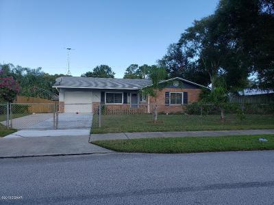 Ormond Beach Single Family Home For Sale: 1903 Carolina Avenue
