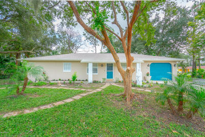 New Smyrna Beach Single Family Home For Sale: 1483 Mary Avenue