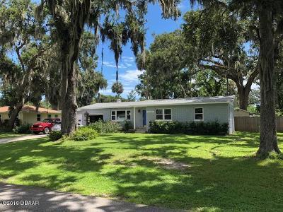 South Daytona Single Family Home For Sale: 2116 Pope Avenue