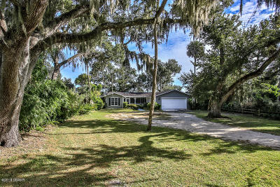 New Smyrna Beach Single Family Home For Sale: 1097 Faulkner Street