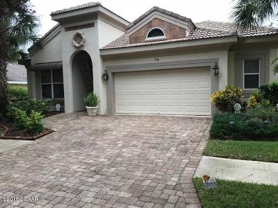 Palm Coast Single Family Home For Sale: 79 Southlake Drive