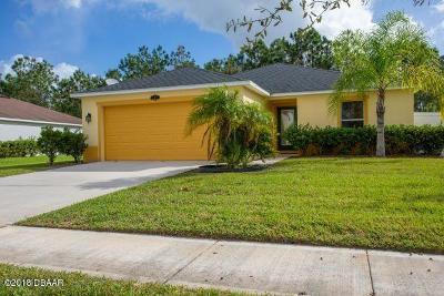 Daytona Beach Single Family Home For Sale: 409 Bayberry Lakes Boulevard