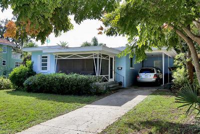 Holly Hill Single Family Home For Sale: 930 Daytona Avenue