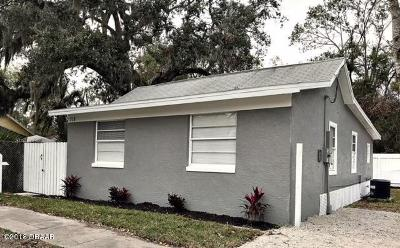New Smyrna Beach Single Family Home For Sale: 318 Palm Street