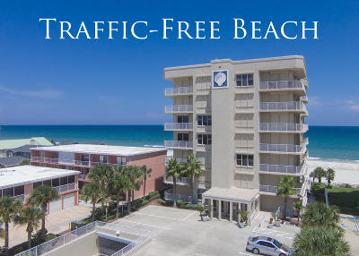 Daytona Beach Shores Condo/Townhouse For Sale: 3851 S Atlantic Avenue #201