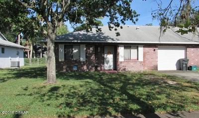 Volusia County Attached For Sale: 4485 Tumbleweed Trail