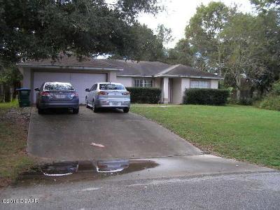 Deltona Single Family Home For Sale: 94 Neal Drive